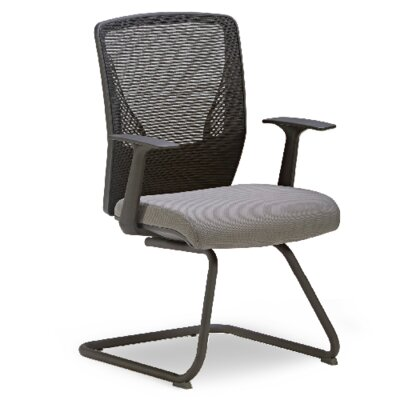 Score Mesh Guest Chair Seat Color: Grey