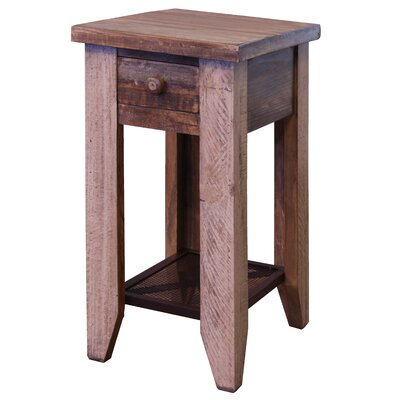 Lake Forest Antique Chairside End Table