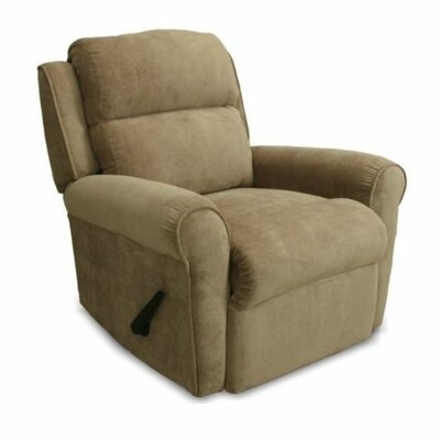 Serenity Manual Rocker Recliner Upholstery: Cafe