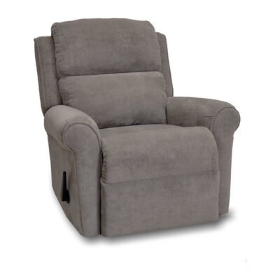 Serenity Manual Rocker Recliner Upholstery: Java
