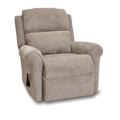 Serenity Manual Rocker Recliner Upholstery: Mineral