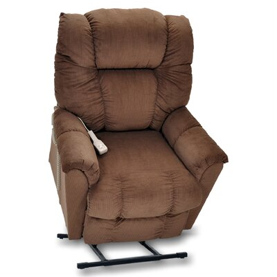 Kent Power Lift Assist Recliner Upholstery: Mocha