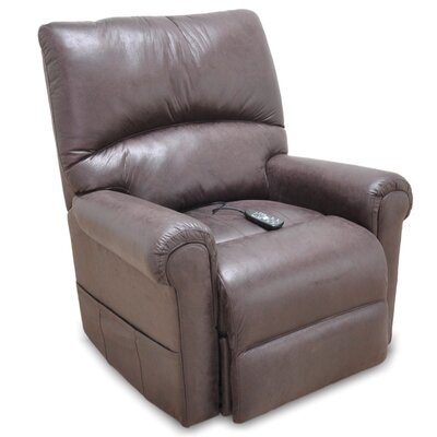 Independence Power Lift Assist Recliner Color: Chocolate