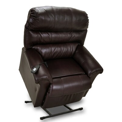Chase Leather Power Lift Assist Recliner
