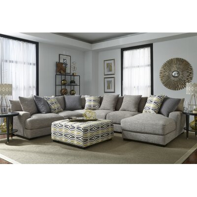 Panos Contemporary L-Shaped Sectional