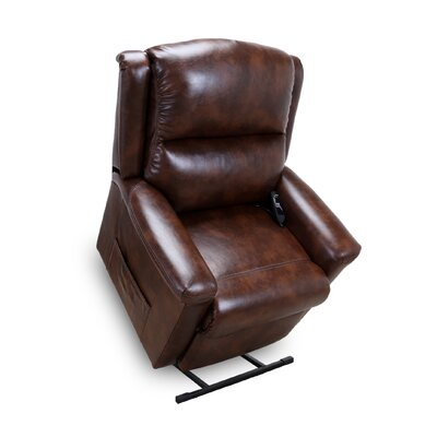 Province Power Lift Assist Recliner Upholstery: Mocha