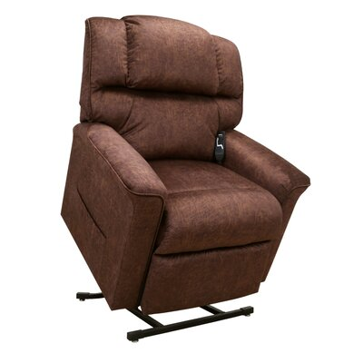 Oscar Power Lift Assist Recliner Upholstery: Sable