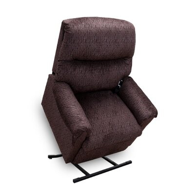 Mable Power Lift Assist Recliner Upholstery: Sepia