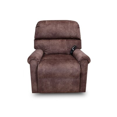 Sinclair Power Lift Assist Recliner Upholstery: Tanner