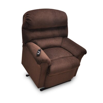 Chase Power Lift Assist Recliner Upholstery: Walnut