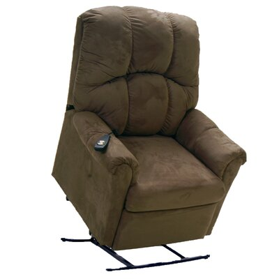Marlow Power Lift Assist Recliner Upholstery: Mocha