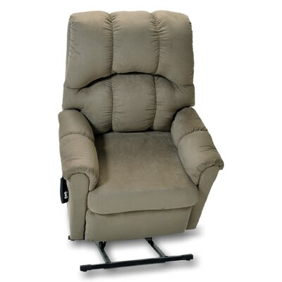 Marlow Power Lift Assist Recliner Upholstery: Green