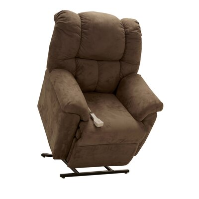 Trent Power Lift Assist Recliner Upholstery: Mink