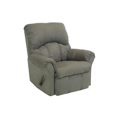 Camden Chaise Recliner Upholstery: Green