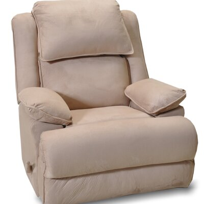 Douglas Manual Rocker Recliner Upholstery: Beige