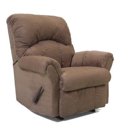 Camden Chaise Recliner Upholstery: Mocha