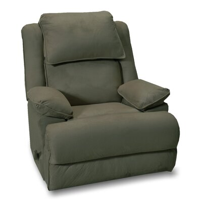 Douglas Manual Rocker Recliner Upholstery: Fern