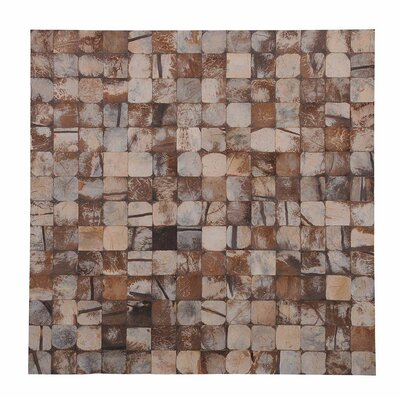 Kelapa 16.54 x 16.54 Coconut Shell Mosaic Tile in Pure Bliss