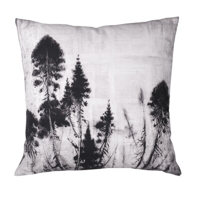 Rio Forest Cotton Throw Pillow