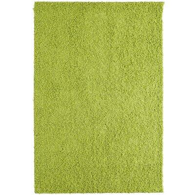 Shag-Ola Lime Green Area Rug Rug Size: 8 x 10