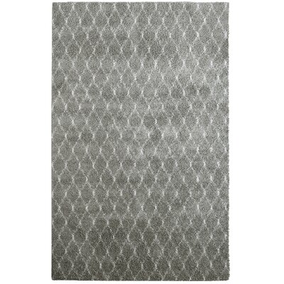 Elizabet Shag Taupe Area Rug Rug Size: 2 x 8