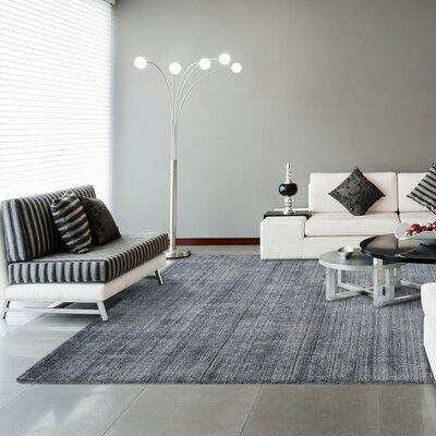 Tiara Gray Area Rug Rug Size: 5 x 7