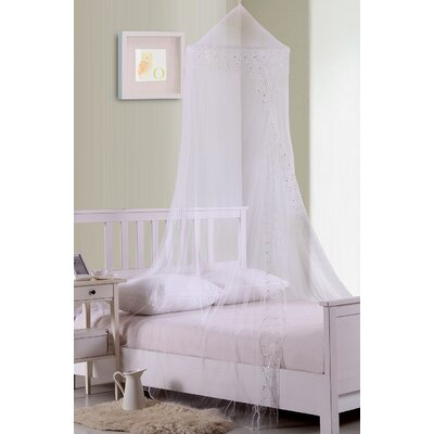 Galaxy Kids Collapsible Hoop Sheer Bed Canopy