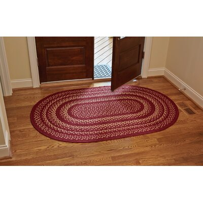 Winesap Area Rug Rug Size: Oval 4 x 6