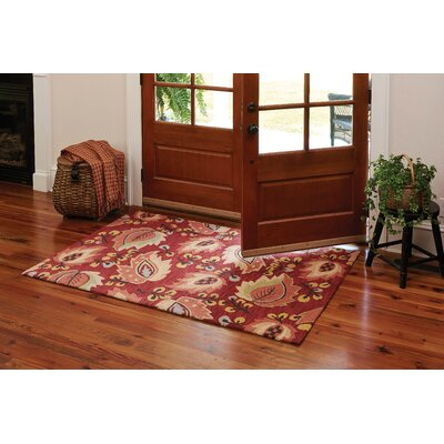 Emery Red Area Rug
