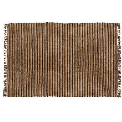 Rag Hand-Woven Brown/Tan Area Rug