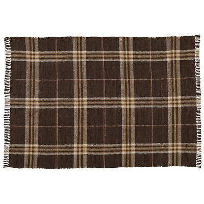 Rag Hand-Woven Brown/Tan Area Rug