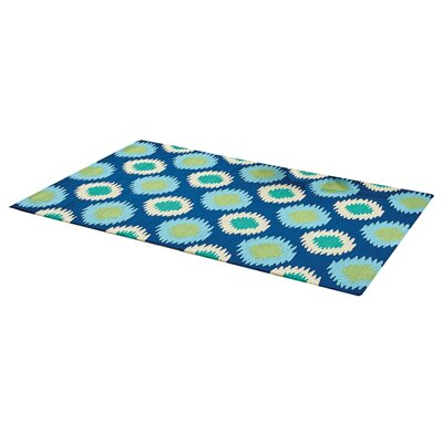 Blue/Green Indoor/Outdoor Area Rug