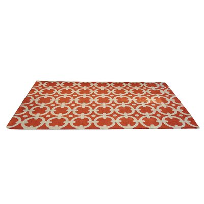 Orange Indoor/Outdoor Area Rug