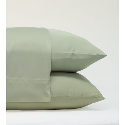 Classic Bamboo Rayon Standard Pillowcase Size: 20 H x 30 W, Color: Sage