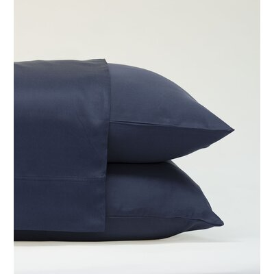 Classic Bamboo Rayon Standard Pillowcase Size: 20 H x 28 W, Color: Bahama Blue