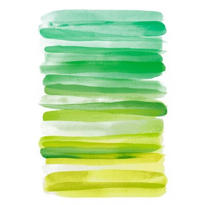 Watercolor Stripes D by THE Studio Painting Print on Canvas GI91482K8