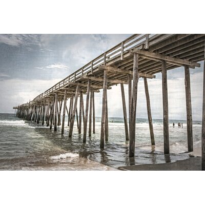 Old Wooden Pier By Lillis Werder Photographic Print On Canvas