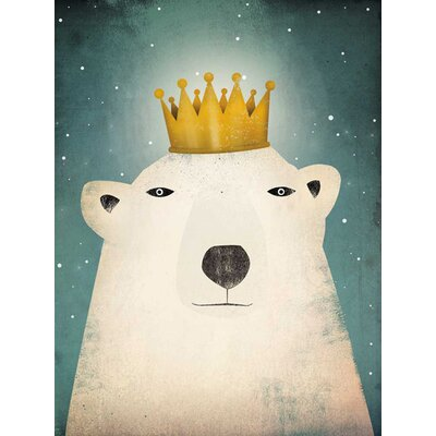 Polar King By Ryan Fowler Graphic Art On Canvas