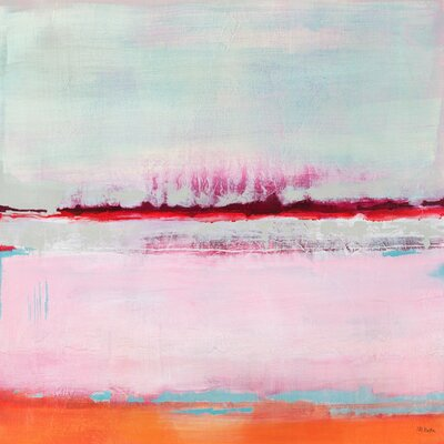 Persimmon Jump Ii By Jill Martin Painting Print On Canvas