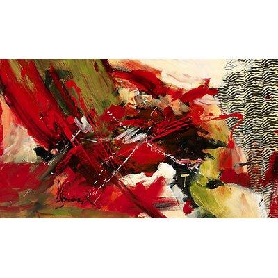 'Profondeur' Painting Print on Canvas