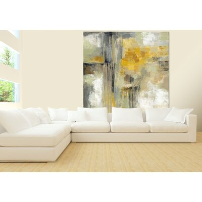 'Sun and Rain' Painting Print on Canvas