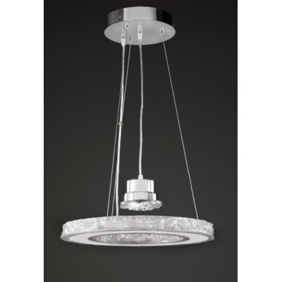 Ice Drum Chandelier Size: 20H X 16W X 16D