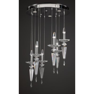 Metro 6-Light Candle-Style Chandelier