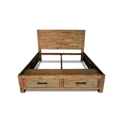 Woodland Storage Bed Frame Size: King