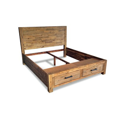 Woodland Storage Bed Frame Size: Queen