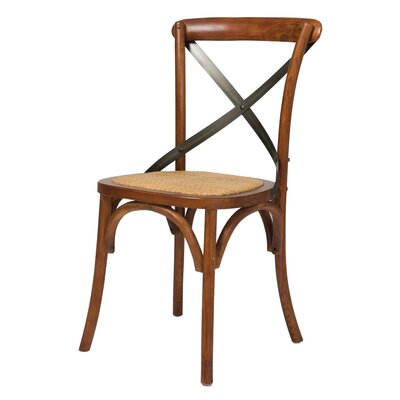 Leff Bistro Dining Chair Finish: Brown