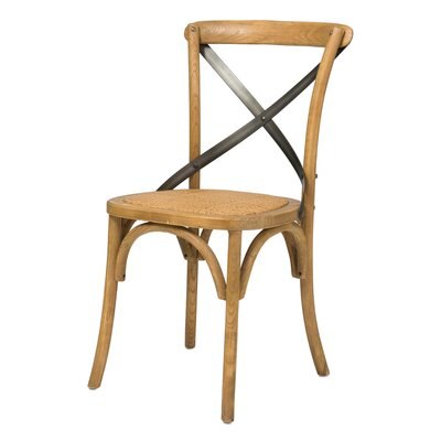 Leff Bistro Dining Chair Finish: Natural Rustic