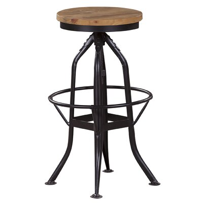 Harbin Adjustable Height Bar Stool