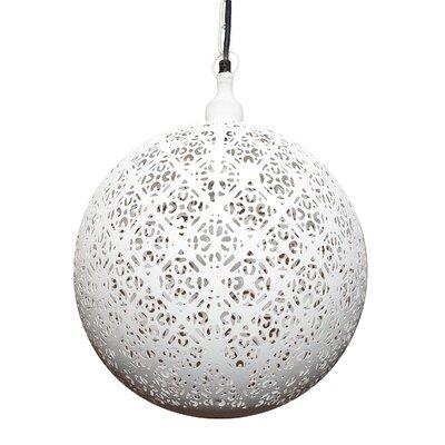 Buckwalter 1-Light Globe Pendant Size: 12 H x 8 W x 8 D