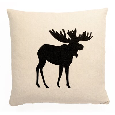 Central Jefferson Icon Moose Square Throw Pillow LOPK1510 40157298